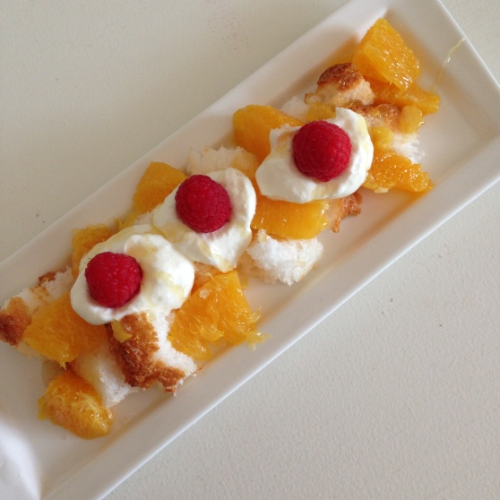 angel food dessert