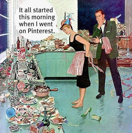 Pinterest overload