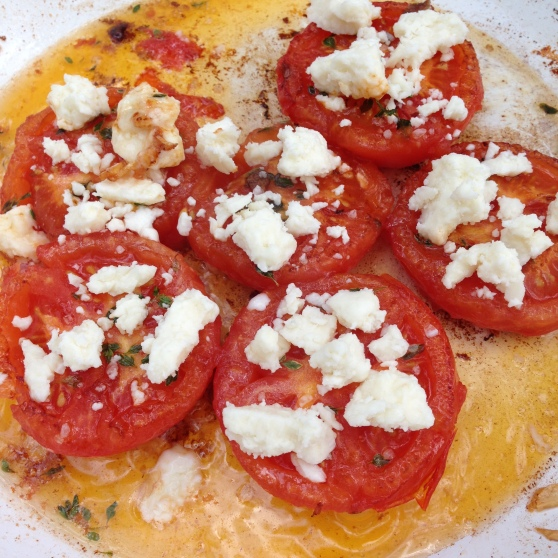 Tomatoes and Feta