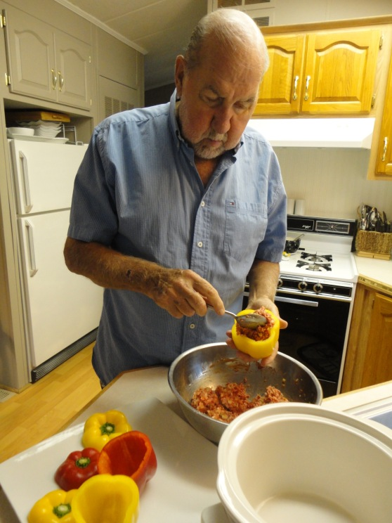 Harry Hayes Stuffed Peppers