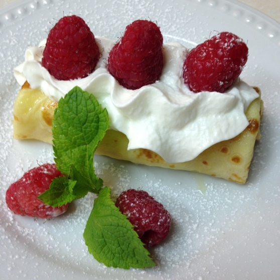 Crepes with Fresh Fruit