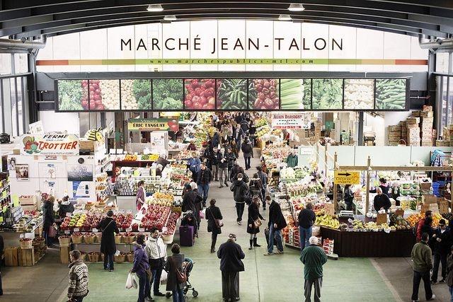 Marche Jean Talon Montreal