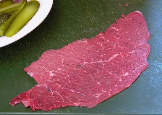 rouladen cut of beef