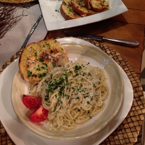 Spaghetti A la lemone