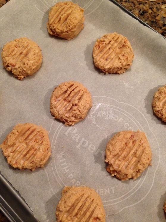 Honey roast peanut butter cookies